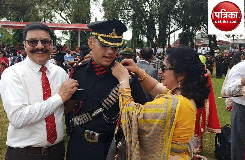 चंडीगढ़ के तेजस गुप्ता सेना में बने लेफ्टिनेंट, पहली तैनाती कारगिल में