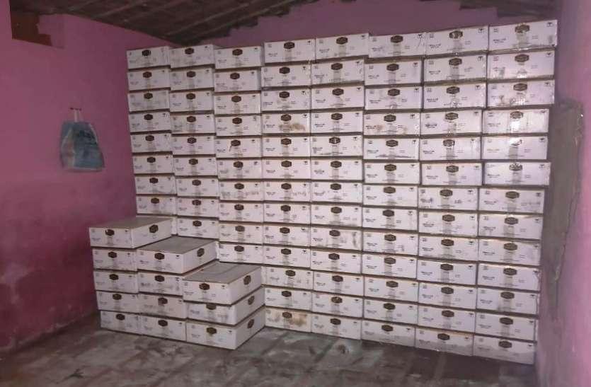 छत्तीसगढ़ : 13 लाख रुपए की 380 पेटी अंग्रेजी शराब जब्त, पांच आरोपी गिरफ्तार