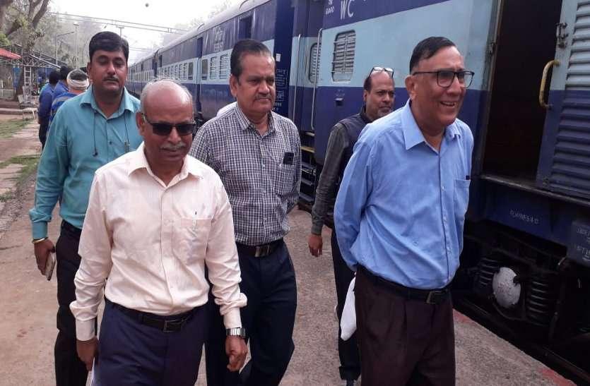 रेल और यात्रियों को सौगात: कटनी-सिंगरौली रेलखंड में 260 किलोमीटर विद्युतीकरण पूरा, ओके रिपोर्ट देने सीआरएस का दौरा