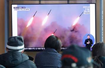 उत्तर कोरिया की नहीं रूक रही मनमानी, पूर्वी सागर में दागीं 3 अज्ञात मिसाइल