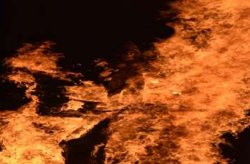 होली में जलाई बुराईयां, शहर में जगह-जगह हुआ होलिका दहन