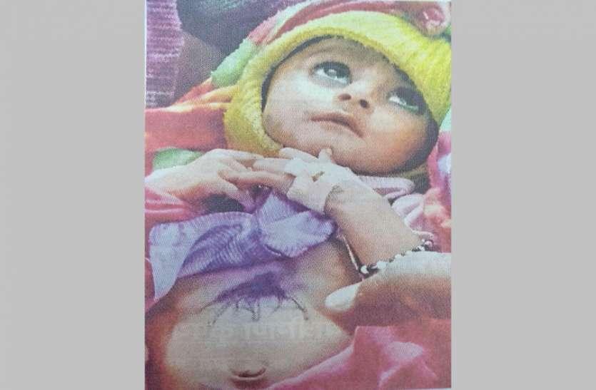 अंधविश्वास ने फिर ले ली मासूम की जान, लोहावट में दो माह के शिशु को गर्म लोहे से दागा