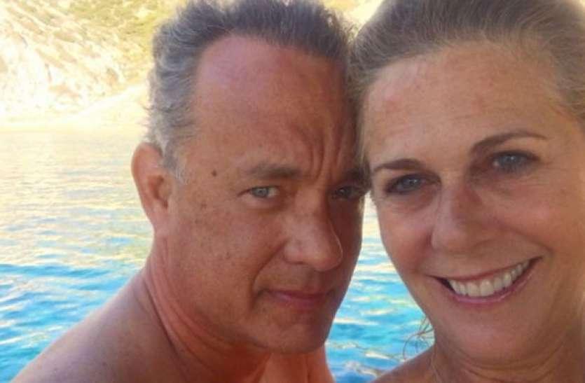 Coronavirus की चपेट में आने के बाद टॉम हैंक्स ने पत्नी के साथ शेयर की पहली तस्वीर, बताया कैसी है तबीयत