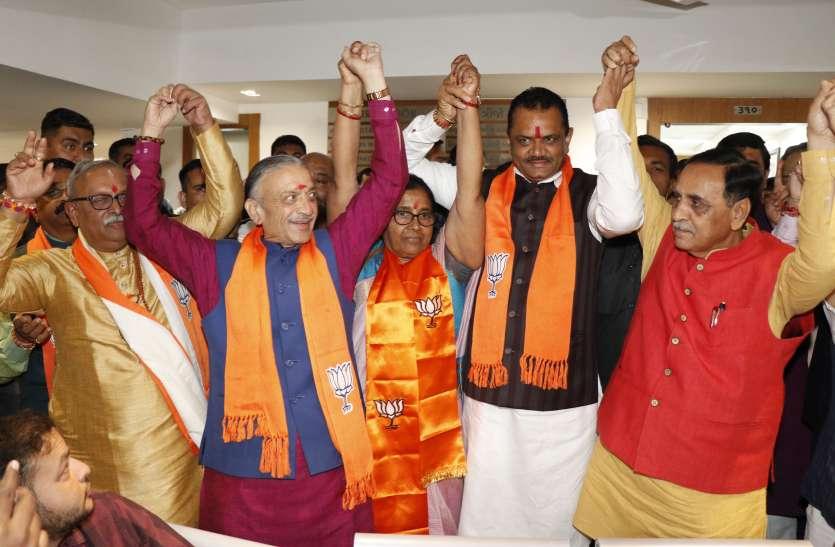 राज्यसभा चुनाव : भाजपा ने उतारा तीसरा उम्मीदवार, नरहरि अमीन के मैदान में उतारने से मुकाबला रोचक