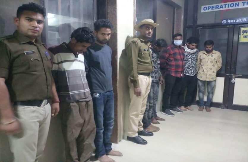 रेलवे का लोहा चुराने वाले बड़े गिरोह को आरपीएफ ने किया गिरफ्तार