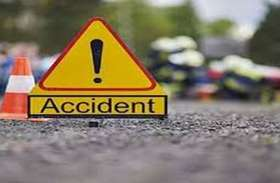 Road accident : जीप-बाइक में टक्कर, दो घायल