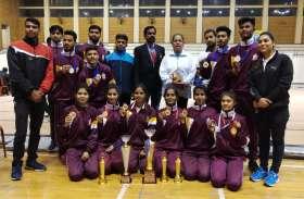 विक्रम विवि के खिलाडिय़ों ने जीते पदक, अमृतसर में लहराया परचम