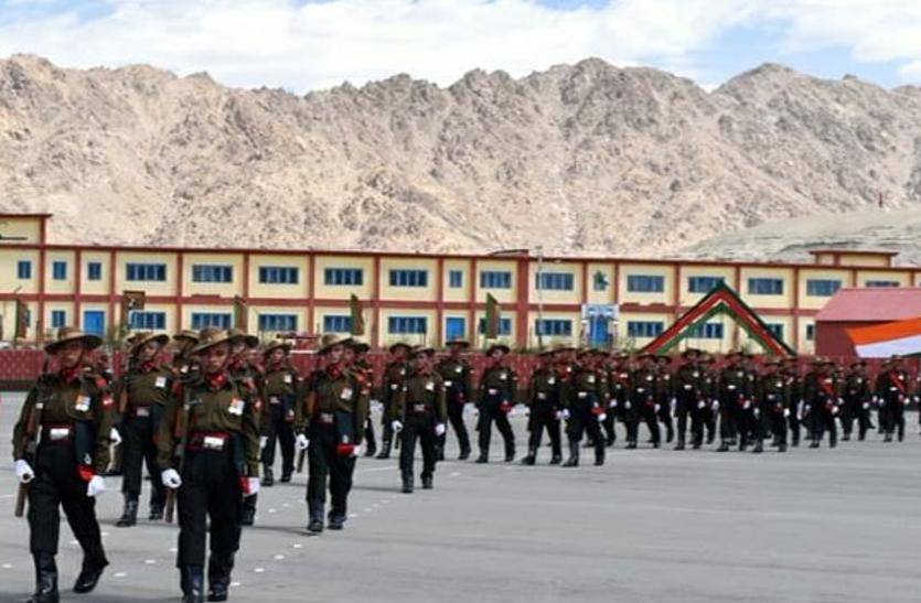 Ladakh Scouts Sodier Found Coronavirus Positive