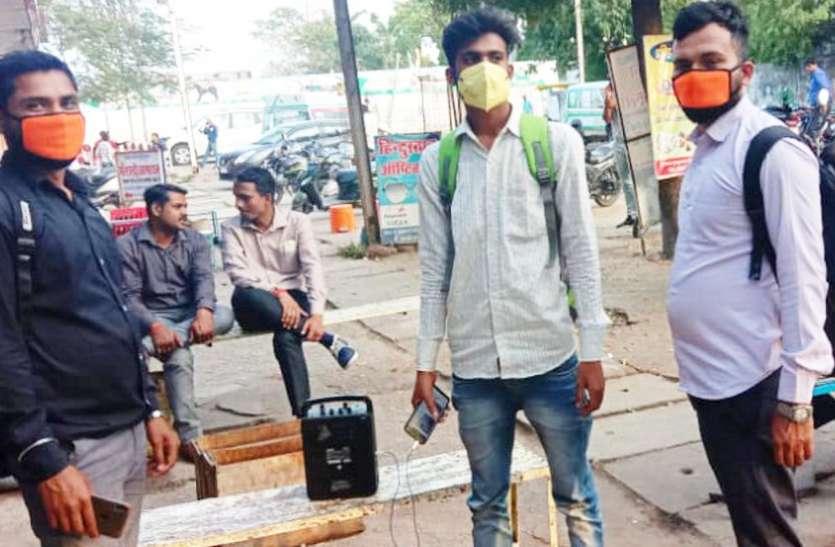 शहर की सफाई में जुटी 10 टीम, 10 दल रहवासियों को कर रहे जागरूक