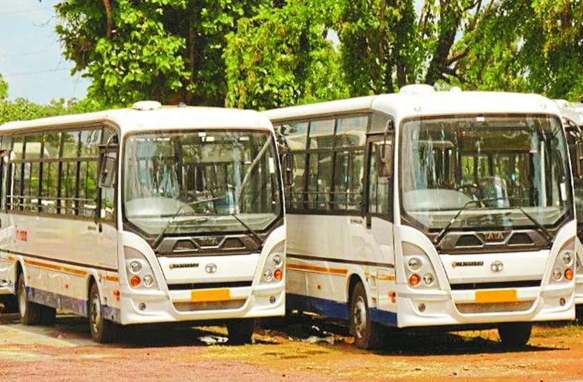 बेमेतरा जिले में सिटी बस सेवा योजना ठंडे बस्ते में
