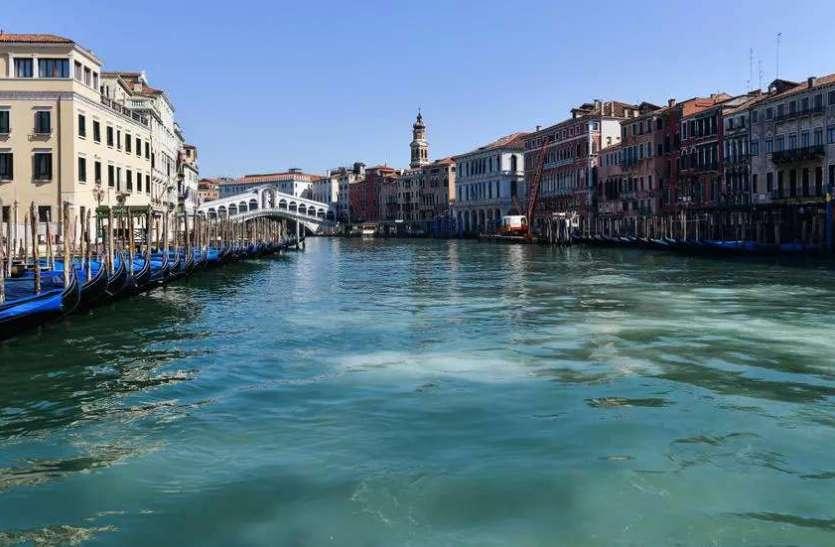 कोरोना ने बदल दी वेनिस की नहरों की तस्वीर, शहर के प्रदूषण में भी आई कमी