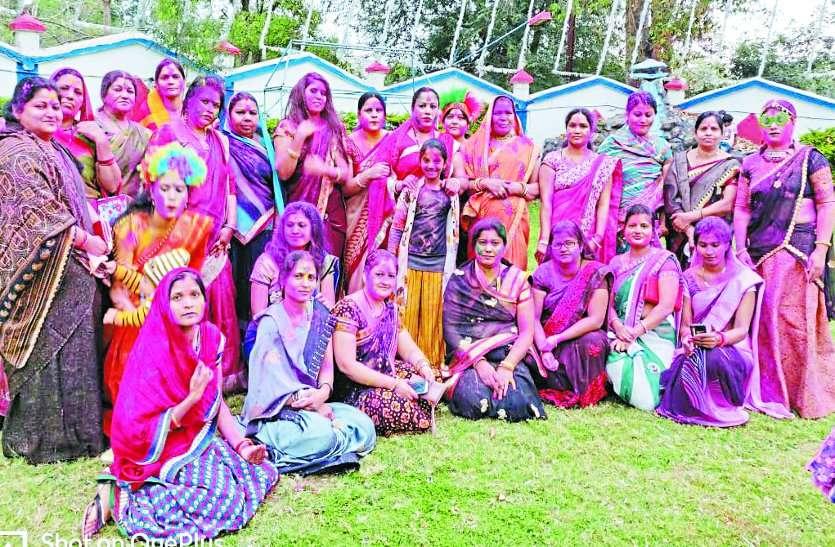 महिलाओं का होली मिलन समारोह
