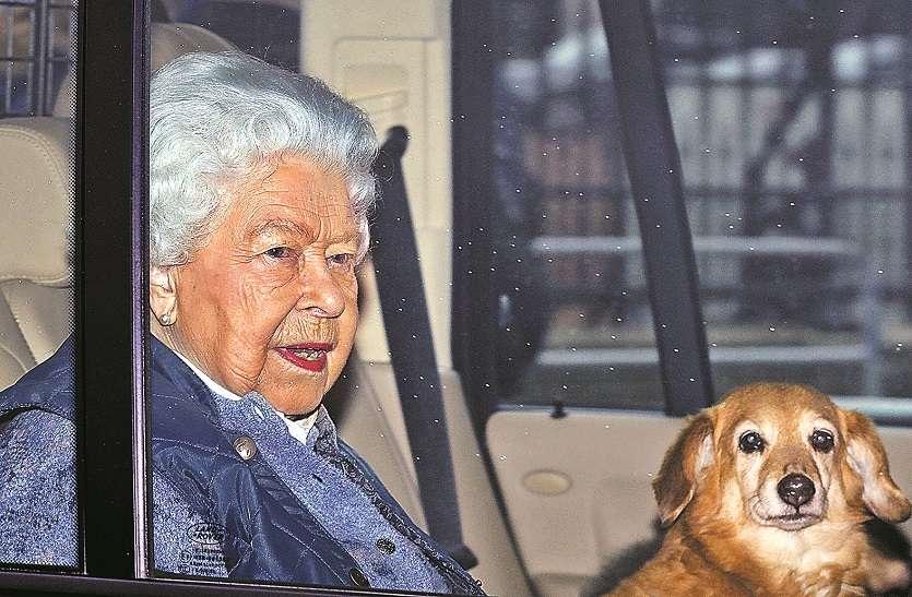 ब्रिटेन: महारानी एलिजाबेथ महल छोड़ घर रवाना