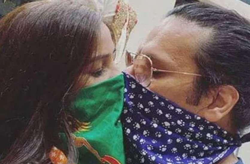 Corona Kiss : पूनम पांडे ने नए बॉयफ्रेंड को अनोखे अंदाज में किया Kiss, फैंस कर रहे है ऐसे-ऐसे कमेंट