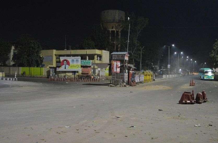 झुंझुनूं में दो नंबर रोड पर लगा कर्फ्यू, जानिए किन इलाकों में है और कब तक रहेगा...