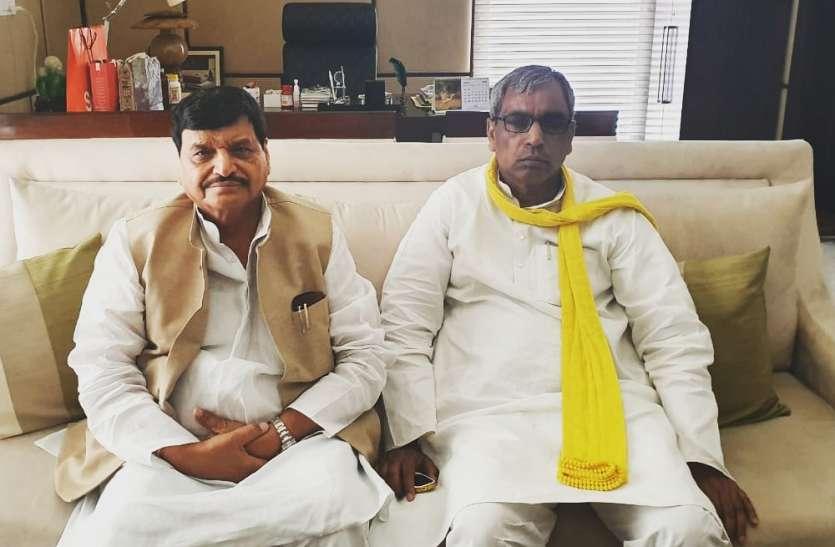 शिवपाल-ओमप्रकाश राजभर ने की बैठक, मिलकर 2022 के लिए किया बड़ा ऐलान