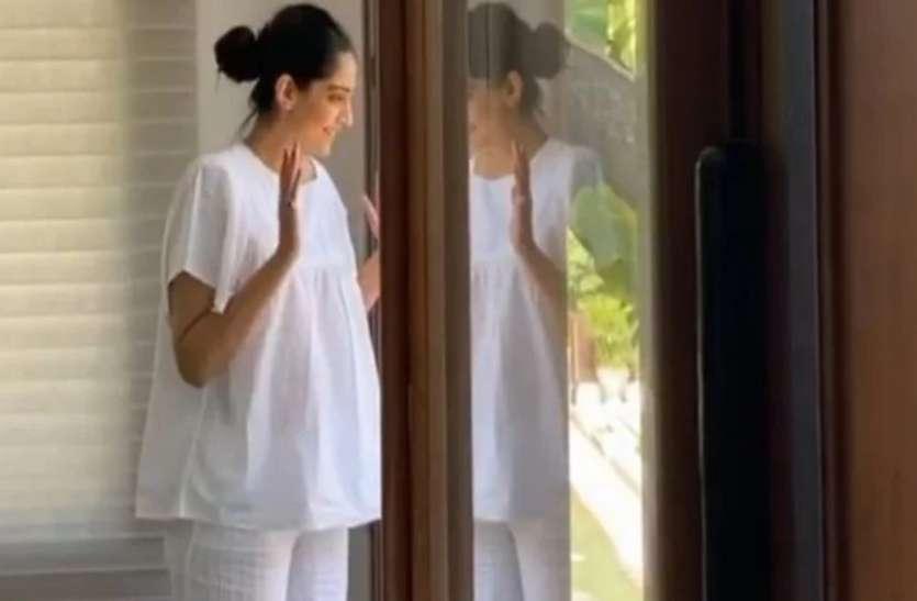 कोरोना का कहर टूटा, संकट में सोनम कपूर ने खुद को आइसोलेशन में किया कैद, सफेद कपड़े पहन सासू मां से बोलीं...!