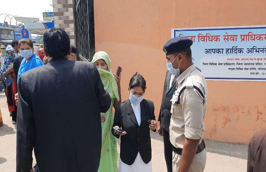 अब रायपुर सहित इन जिलों के कोर्ट के दरवाजे हुए बंद, कैदियों की बढ़ी पेशी की तारीख