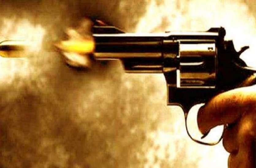 एक्सिस बैंक के गार्ड को गोली मार लूटे 20 लाख रुपए