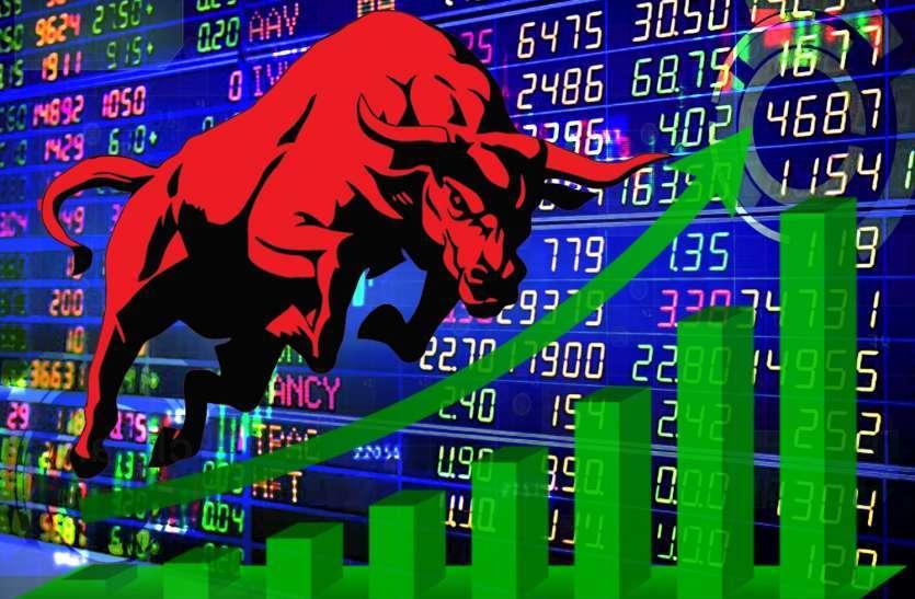 सरकार के आश्वासन, रुपए में सुधार और विदेशी बाजारों में बढ़त शेेयर बाजार में उछाल, सेंसेक्स में 550 अंकों की बढ़त