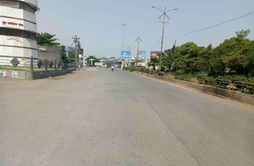 Janta Curfew: छत्तीसगढ़ में जनता कर्फ्यू का व्यापक असर, सड़कें सूनी और बाजार बंद