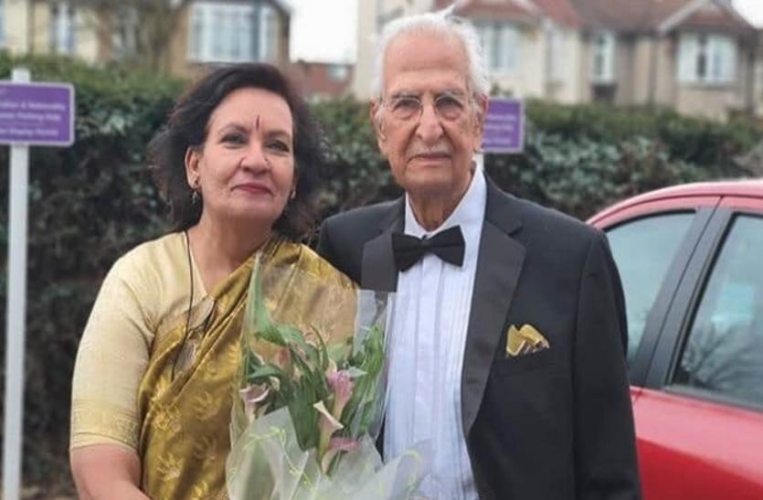 100 वर्षीय फिल्ममेकर को नहीं कोरोना खौफ, 30 साल छोटी गर्लफ्रेंड से सरेआम रचाई शादी