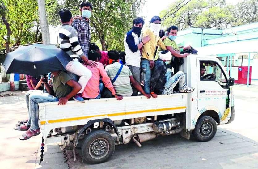 अहमदाबाद-गोरखपुर से आए 107 राहगीरों की कराई स्क्रीनिंग, घरों में ही रहेंगे आइसोलेट