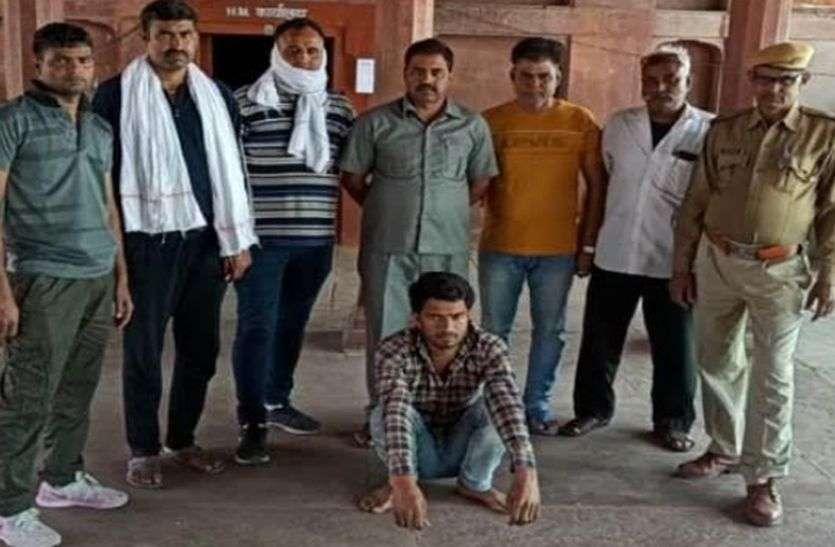 5 हजार का इनामी बदमाश श्रीमान गिरफ्तार