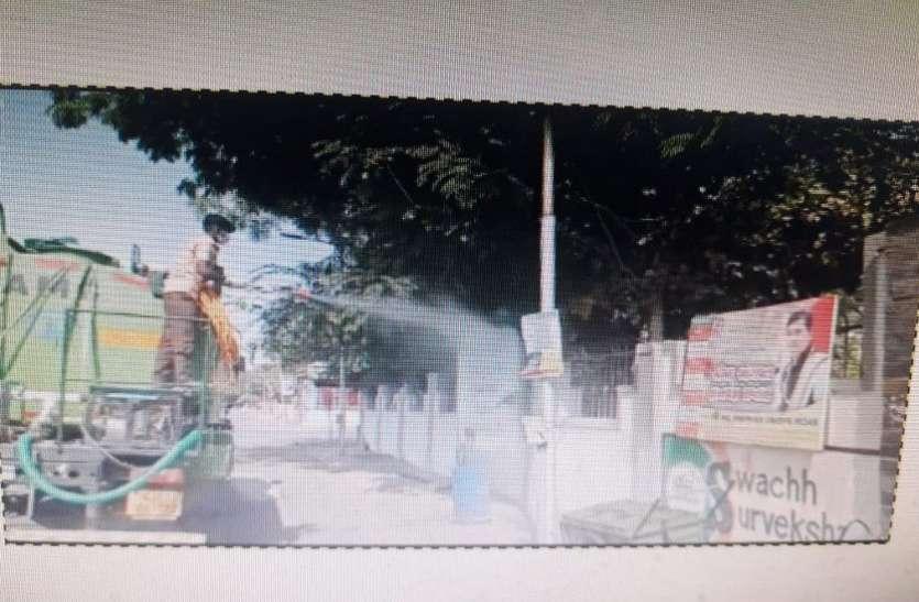 Corona : Ahmedabad  में फायर ब्रिगेड के वाहनों से किया जाएगा छिड़काव