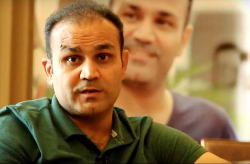 जनता कर्फ्यू: वीरेंद सहवाग ने शेयर की ट्रक के पीछे लिखी लाइन, कहा- पालन करें इसका