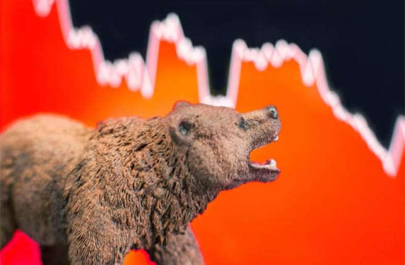 शेयर बाजार में कोहराम, सेंसेक्स और निफ्टी धड़ाम, 14 लाख करोड़ रुपए तमाम