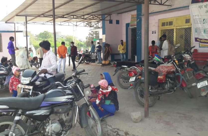 ग्रामीण अंचल के स्वास्थ्य केन्द्रों पर बढ़े सर्दी-जुकाम के मरीज