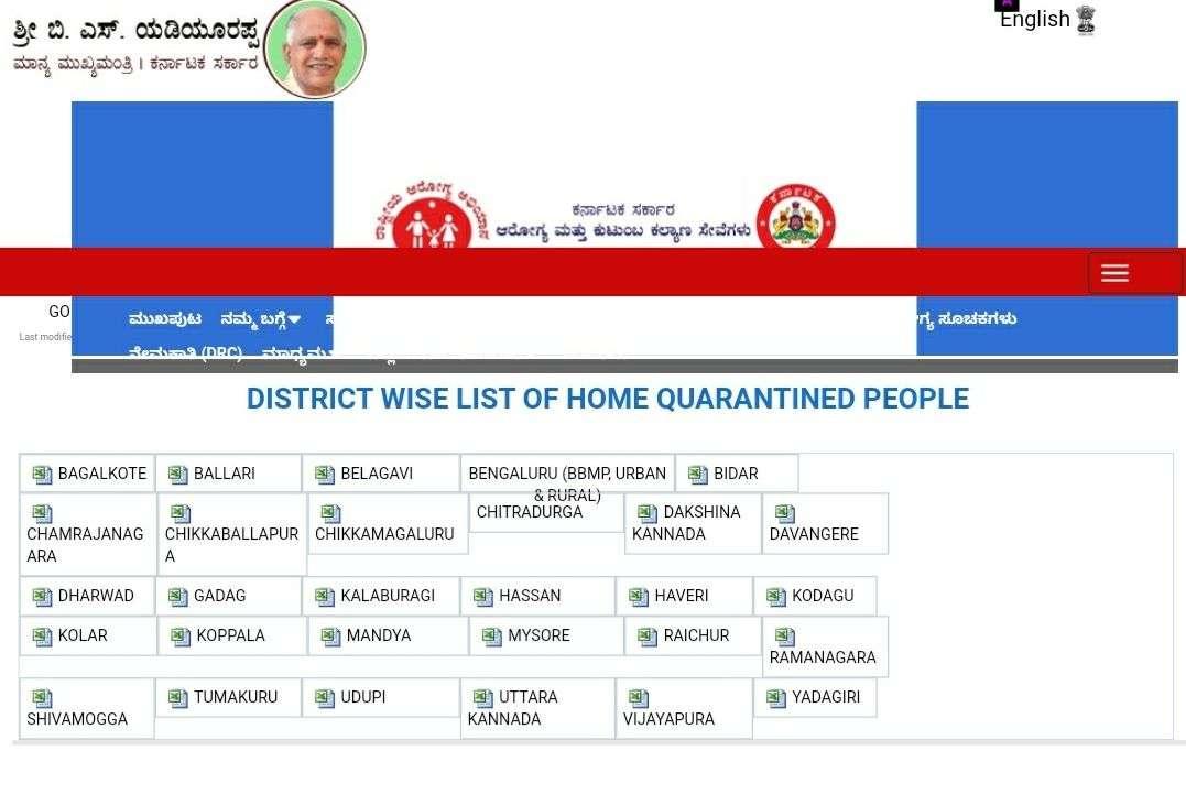 कोरोना का असर: कर्नाटक ने सार्वजनिक की होम क्वारंटाइन लोगों की सूची