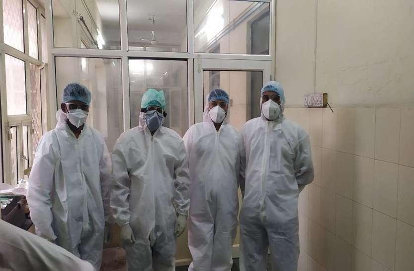 कोरोना ओपीडी में 16 कोरोना संदिग्ध मरीज भर्ती, 288 की हुई जांच
