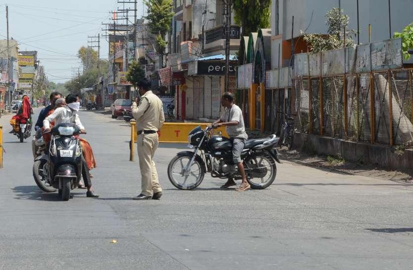 जिले की बार्डर सील, भोजपुरी टोल प्लाजा के पास 36 यात्रियों से भरी बस की हुई जांच