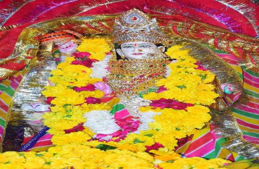 kishangrh_पहले दिन शैलपुत्री स्वरूप की पूजा