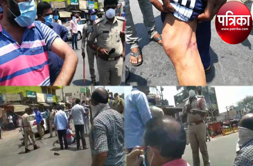 आंध्र प्रदेश में दूसरी बार पत्रकारों पर पुलिस की बर्बरता, मंत्री ने दिए कार्रवाई के आदेश