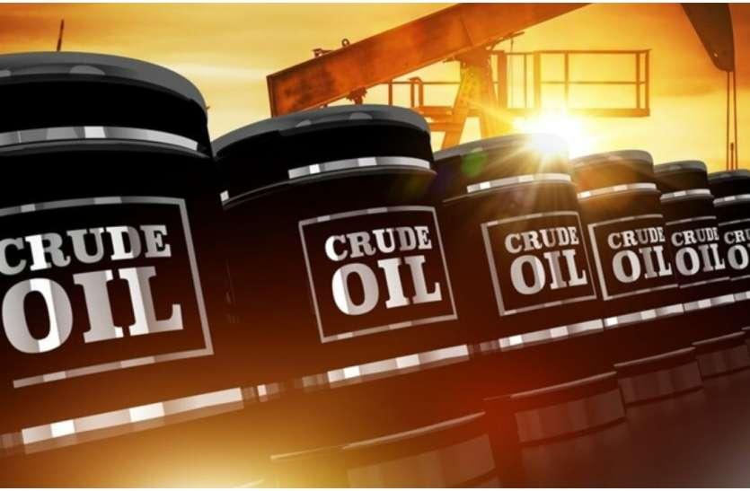 322 दिन की उंचाई से फिसला कच्चा तेल, जानिए कितने हो गए हैं दाम