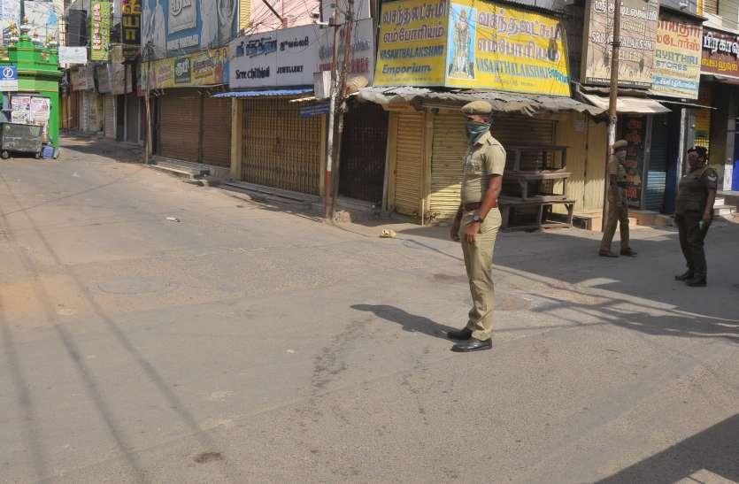 लॉकडाउन के लिए पुलिस को दिखानी पड़ी सख्ती