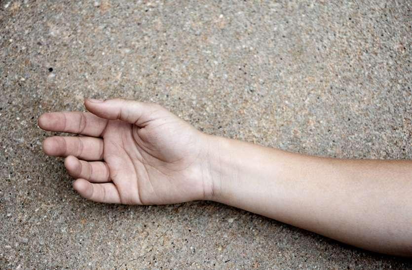 पत्नी से विवाद के बाद खुद को चाकू मारा, मौत