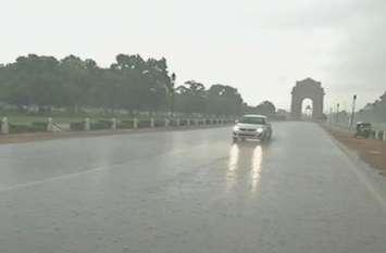 मौसम अपडेटः दिल्ली-एनसीआर में बारिश से लुढ़का पारा, हरियाणा में ऑरेंज अलर्ट