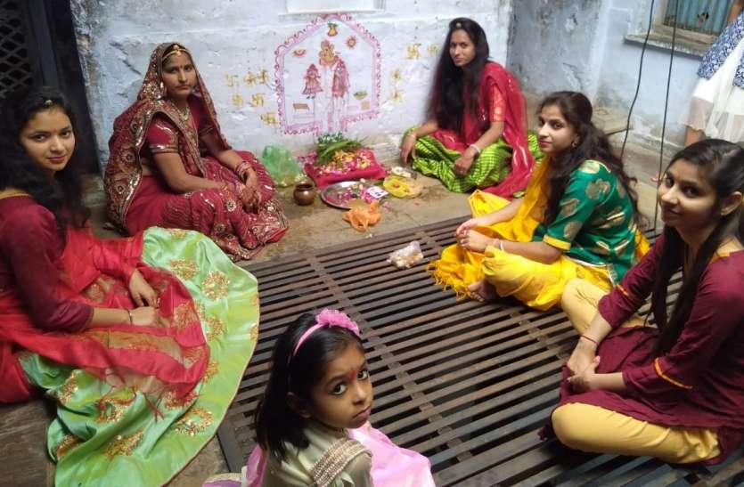 अखंड सुहाग की कामना के साथ महिलाओं ने पूजी गणगौर
