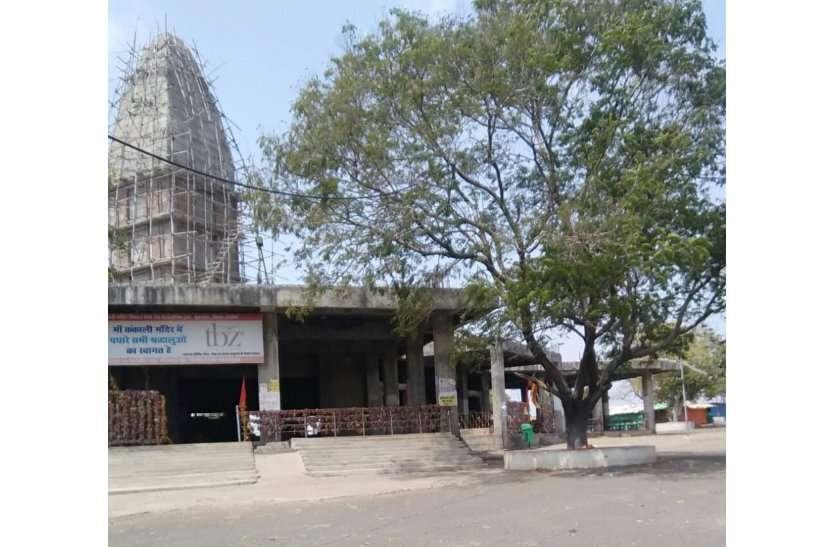 मां कंकाली माता मंदिर और मां छोलेवाली मंदिर खंडेरा में पुजारियों ने की घट स्थापना