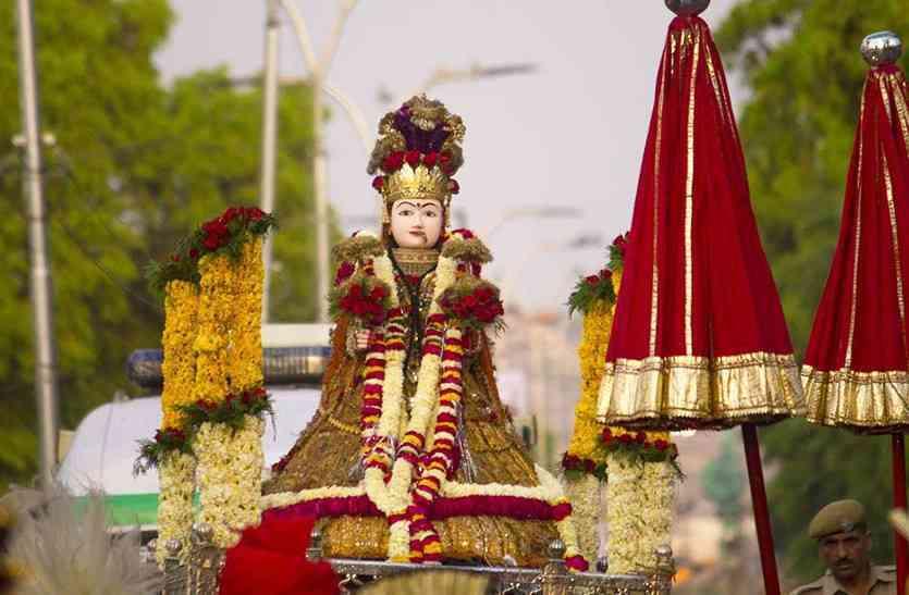 राजस्थान का ख़ास गणगौर पर्व आज, घरों में ही होगा पूजा, कोरोना के चलते नहीं निकलेगी सवारी