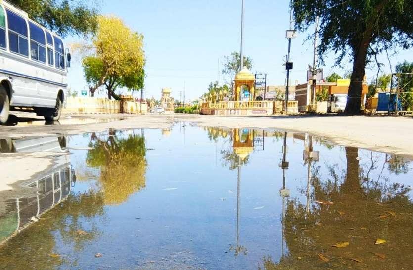 जैसलमेर में दूसरे दिन भी बेमौसम की आफत, 15 एमएम बारिश