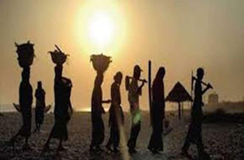 मालगाड़ी में सवार हो 18 मजदूर छिपकर जब ओडिशा से पहुंचे जगदलपुर, फिर.....