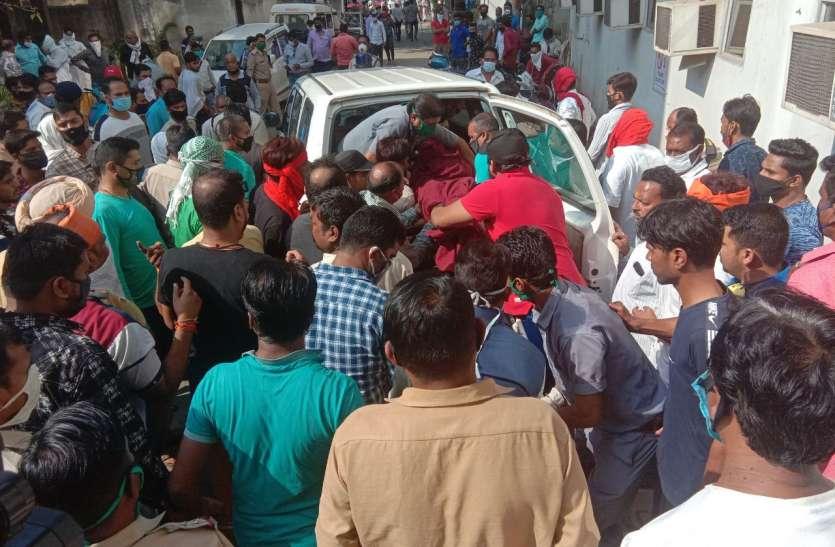murder:जबलपुर में कफ्र्यू के बीच दिनदहाड़े पूर्व पार्षद की गोली मारकर हत्या