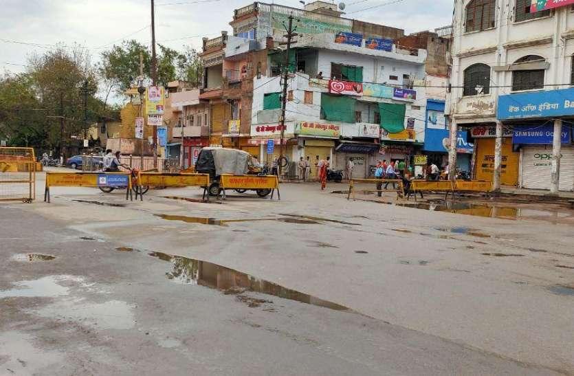 डबरा में रूक-रूक हो रही बारिश, बिगड़ते मौसम ने बढ़ाई किसानों की चिंता