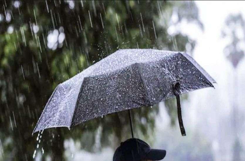 Ajmer lock down: बरसात ने लगाई लोगों पर कुछ लगाम, सडक़ों पर भीड़ कम