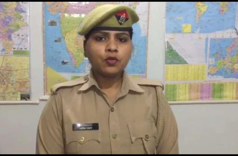 Lockdown में फंसी महिला सिपाही इस तरह कर रही फर्ज पूरा, अब सभी कर रहे तारीफ